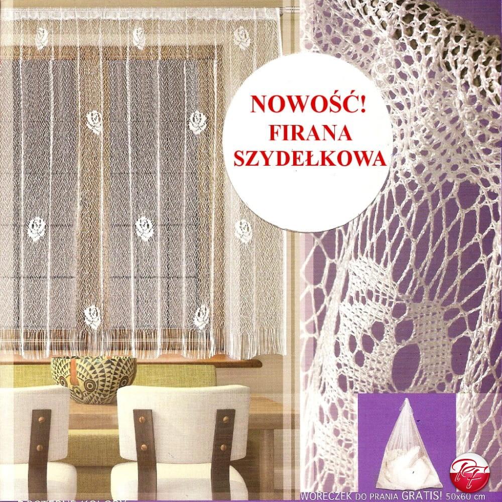 Firanka 4f213230 Wymiar 200x250 Kolor Biały Lub Kremowy