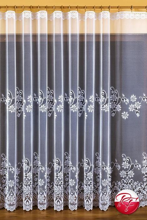 Firana Na Metry 603 D 40 Wymiar 250 Kolor Biały