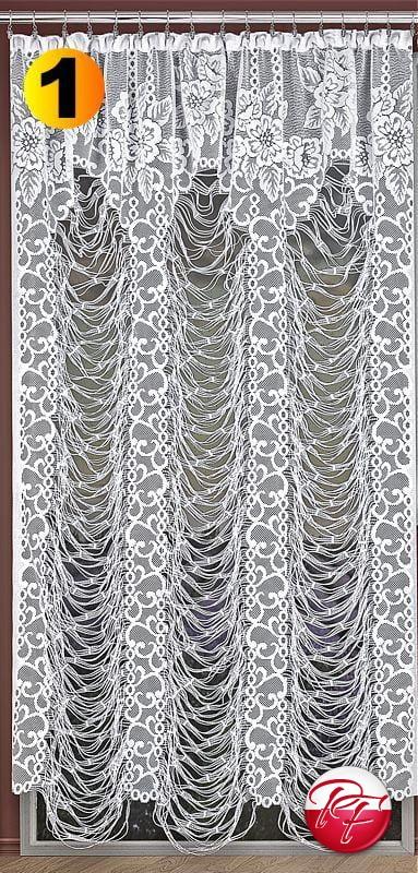 Firana Sieć Noe Wymiar 200x250 380 X 160 Kolor Biały